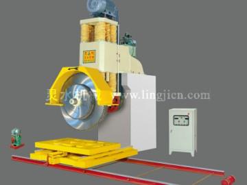 石材机械 油压柱式高效组合锯石机 灵水机械专注石材机械20年