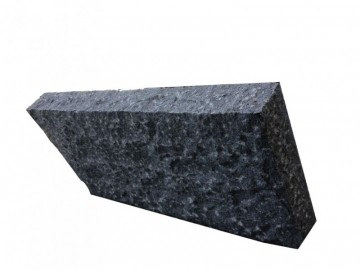 芝麻黑剁斧面园林石材