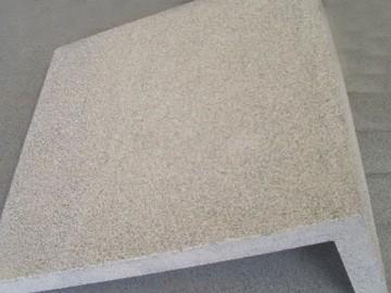 连体转角石材 表面荔枝效果加工