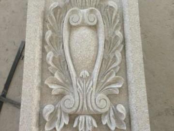 别墅外墙石材雕花板