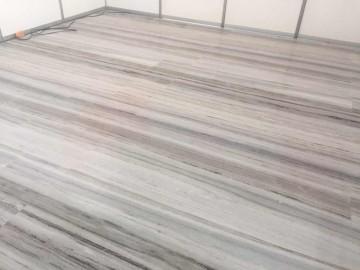 水晶木纹大理石铺地应用