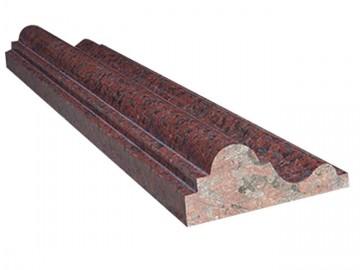 红色石材线条-JS-024