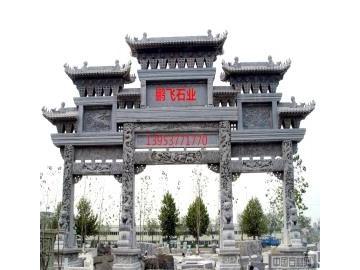 大型石雕菩萨佛像