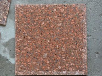 代代红石材光面样品