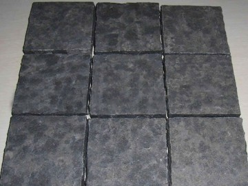 仿古面蒙古黑方块石 拼板-- 内蒙古翁牛特旗亿合公镇英磊石材厂