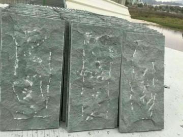 青石自然面墙石规格板