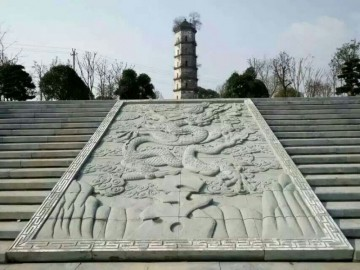 青石浮雕广场市政工程青石装饰