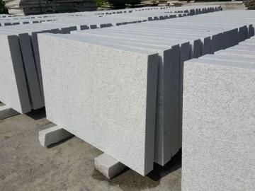 珍珠白石材厚板成品