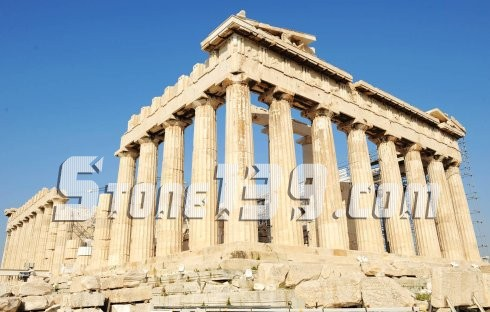 欧式古石柱风格介绍-希腊石柱和罗马石柱(图)