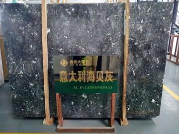 水头海贝灰大板供应