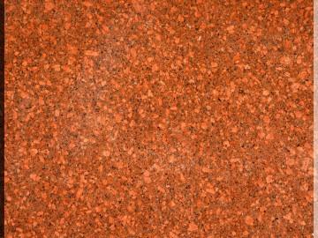 光泽红石材