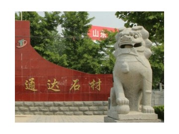 临沂政府门口石狮子价格报价-- 临沭县通达石材厂