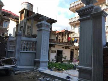 私家住宅 别墅栏杆 庭院石材护栏产品配套供应