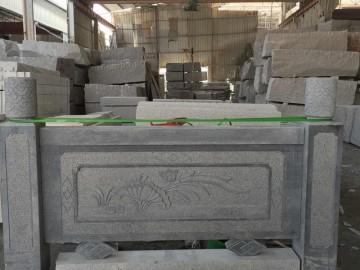 惠安花岗岩栏杆 护栏雕刻加工