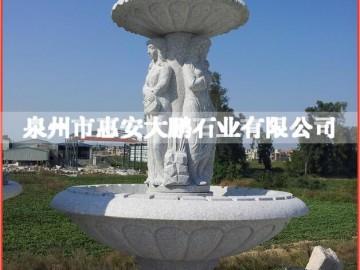 专业生产 园林广场喷水池 室外喷水池石雕-- 泉州市惠安大鹏石业有限公司