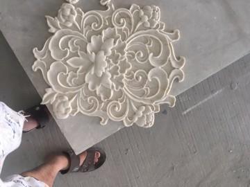 大理石雕花 水头CNC自动雕刻机加工