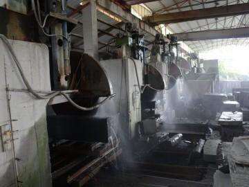 长泰恒益石材厂十几台花岗岩方料大切对外加工各种花岗岩荒料