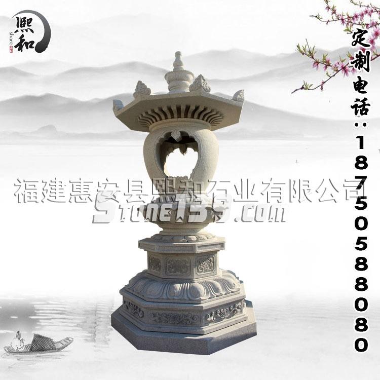 惠安石雕石灯展示图-(11)