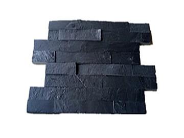 开创V40型错口天然黑板岩文化石