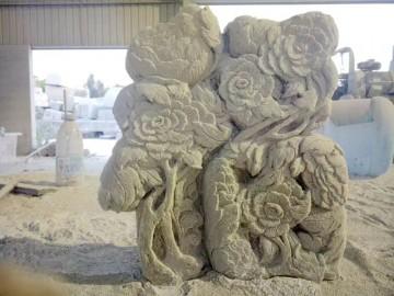 超强立体感石材浮雕 花岗岩数控雕刻加工-- 亿丰石材工艺