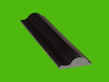 黑色仿形石材线条 HH-010