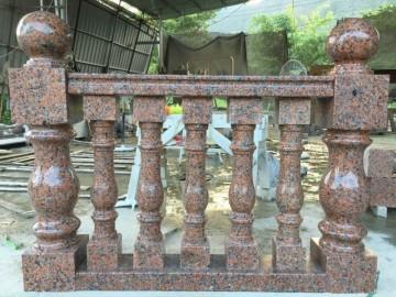 枫叶红护栏 栏杆