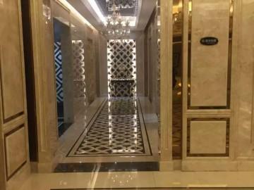 电梯口大理石装饰应用-- 石尚人生-均豪石业