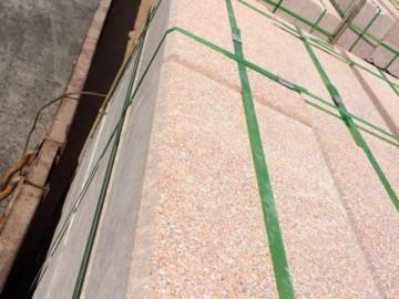 荔枝面规格板材地铺工程应用 河栏杆