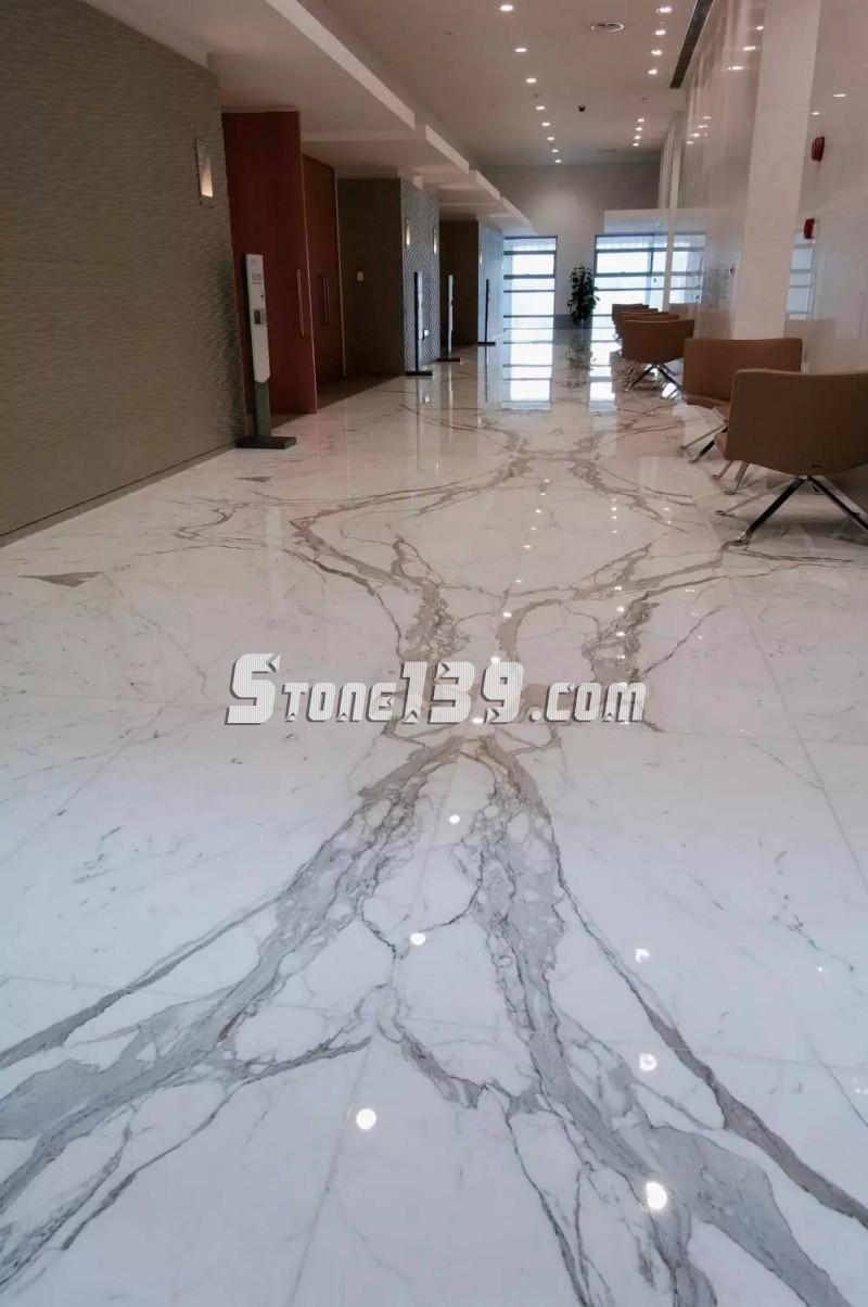 室内地面石材拼花装饰常见的搭配及实例应用欣赏