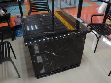 黑玉冰花桌子-- 正升石业