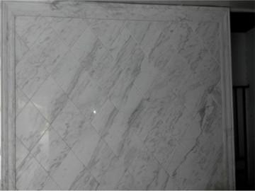 爵士白大理石背景墙AS-015