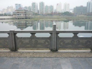 公园石材河栏杆