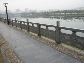河栏杆 石材栏杆 花岗岩河栏供应