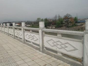 河栏杆 石材护栏配套供应