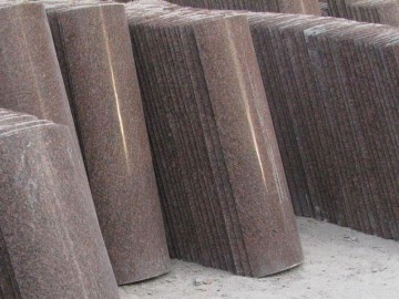 水头弧形板 异形圆柱石材产品-- 鼎奥石业