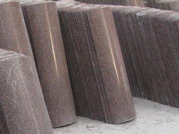 水头弧形板 异形圆柱石材产品