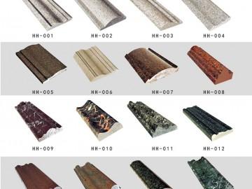 各种仿形 异形石材线条加工