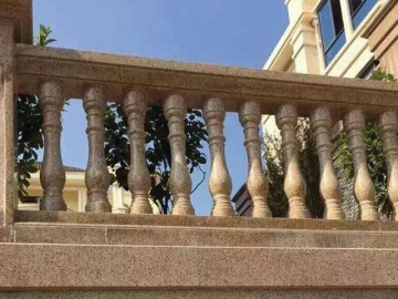 楼顶石材栏杆护栏
