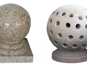 南安水头建材市场圆球 石球 挡车球供应