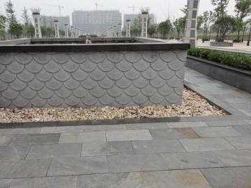 园林地铺 墙石