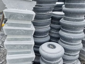 福建南安石材圆柱 异形产品-- 鸿翔圆柱