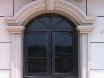 西式别墅 石材窗套