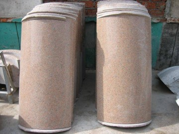 花岗岩空心柱供应商 石井加工厂-- 鸿翔圆柱