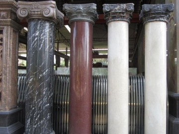 罗马柱 圆柱石材批发