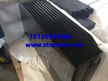 蒙古黑石材抛光面 工程板 台面板