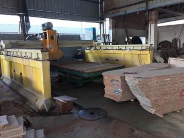 顺丰石材厂石材加工设备及生产车间图片