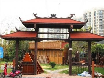 防腐木门头定制厂家哪家好,饰祺供,提供专业的定制服务-- 上海饰祺建筑装饰工程有限公司