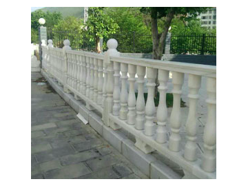 水晶白石柱