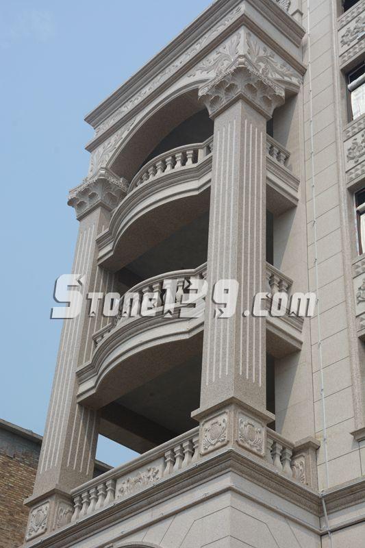正门的大方柱子  欧式风格罗马柱   一楼大门特写   豪宅   一楼
