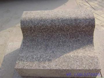S型五莲红路边石